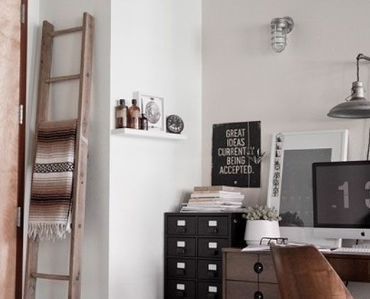Click pic for 33 small apartment decorating ideas space saving ladder storage studio - Space saving ideas for studio apartments ...