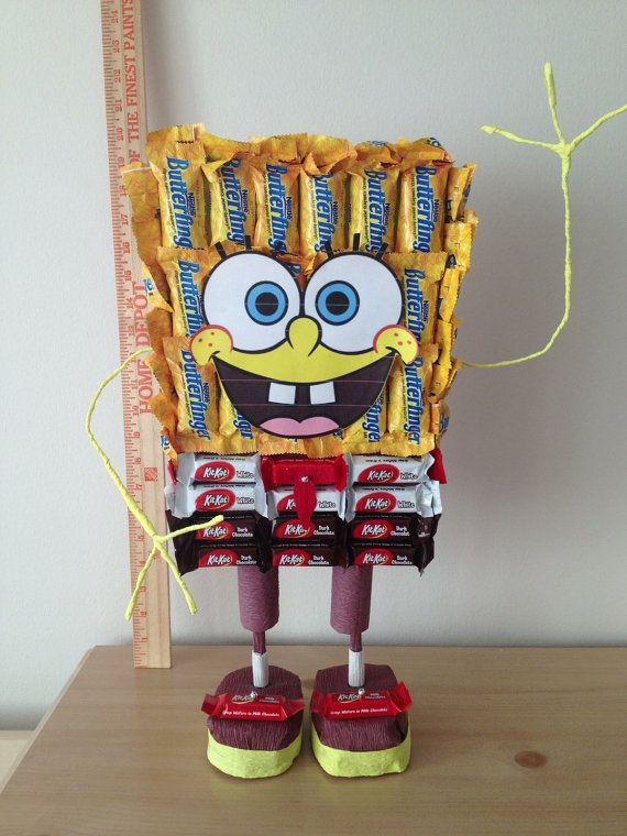 SpongeBob Candy Decoration Toy Gift Present Easter Mother