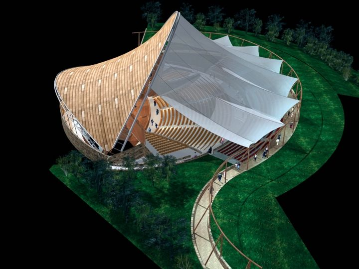 FTL invents a new breed of structures - Fabric Architecture
