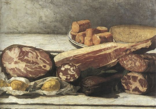Giovanni Segantini, GIOIA DEL COLORE, 1886, Olio su tela, cm 56,5x79, Milano, collezione privata