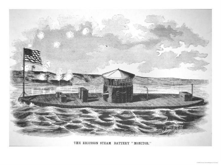 a history of how uss monitor and uss merrimack contributed to the civil war Usa naval history: the uss monitor the uss monitor was the first ironclad war ship in the american civil war the american civil war, which lasted from 1861 to 1865, was the conflict between the north (union) and south (confederate.