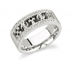 African Wedding Rings Men's Wedding Ring. I love every single piece in this Jendayi Collection!