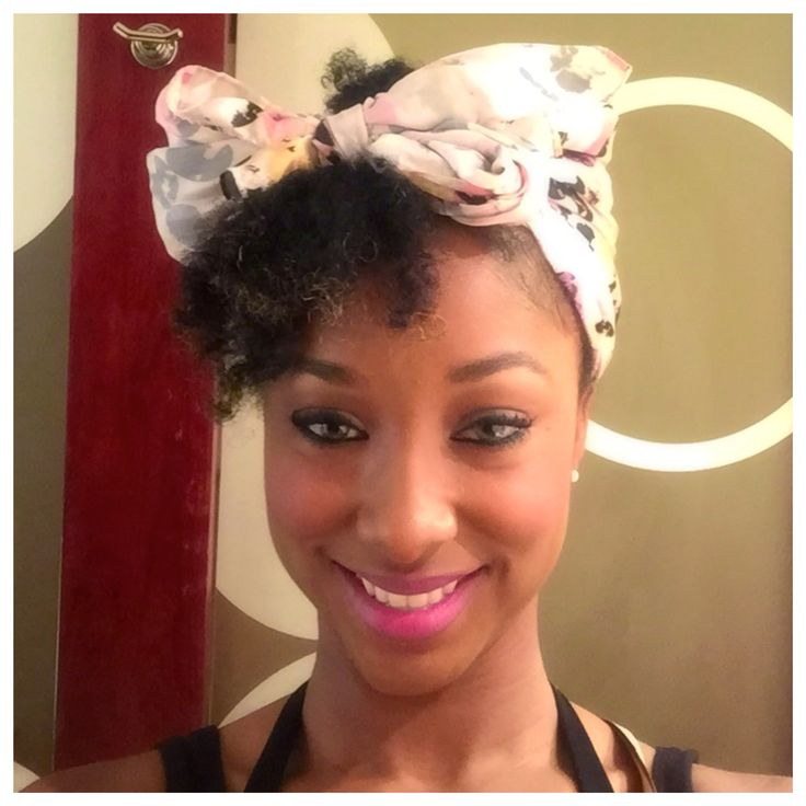 Head Wrap for a quick fix for natural hair.   – Natural Hair Styles