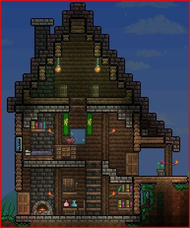 33 best terraria inspiration images on pinterest for Terraria house designs