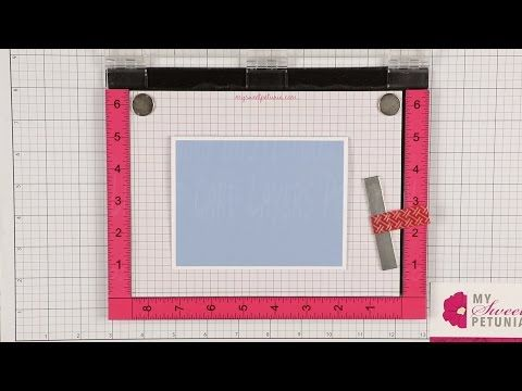 The Paper Boutique: Using MISTI Tool to Line Up Card Layers Perfectly