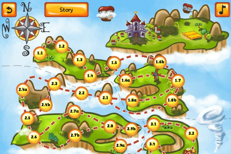 Kings Can Fly - Screenshot | Kings Can Fly is a fun and lighthearted puzzle game where you build wind fans to guide the King's airships through puzzles. #kingscanfly | More info: www.kingscanfly.com/