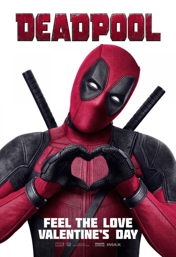 Directed by Tim Miller.  With Ryan Reynolds, Morena Baccarin, T.J. Miller, Ed Skrein. A former Special Forces operative turned mercenary is subjected to a rogue experiment that leaves him with accelerated healing powers, adopting the alter ego Deadpool.