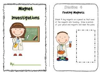 Magnet Activities-Free Booklet