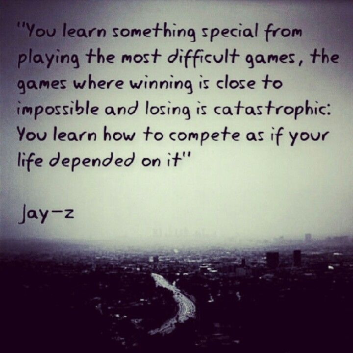 This is a quote by Jay z from his book Decoded. Such a true statement.