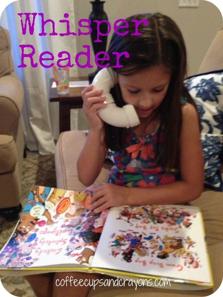 Use a homemade Whisper Reader to practice reading and increase fluency. Whisper readers are so simple to make and a great way to motivate kids to read independently too!