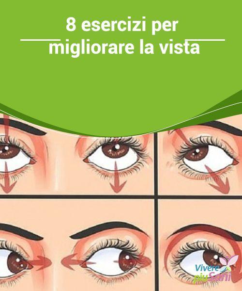 8 esercizi per migliorare la vista  ♥