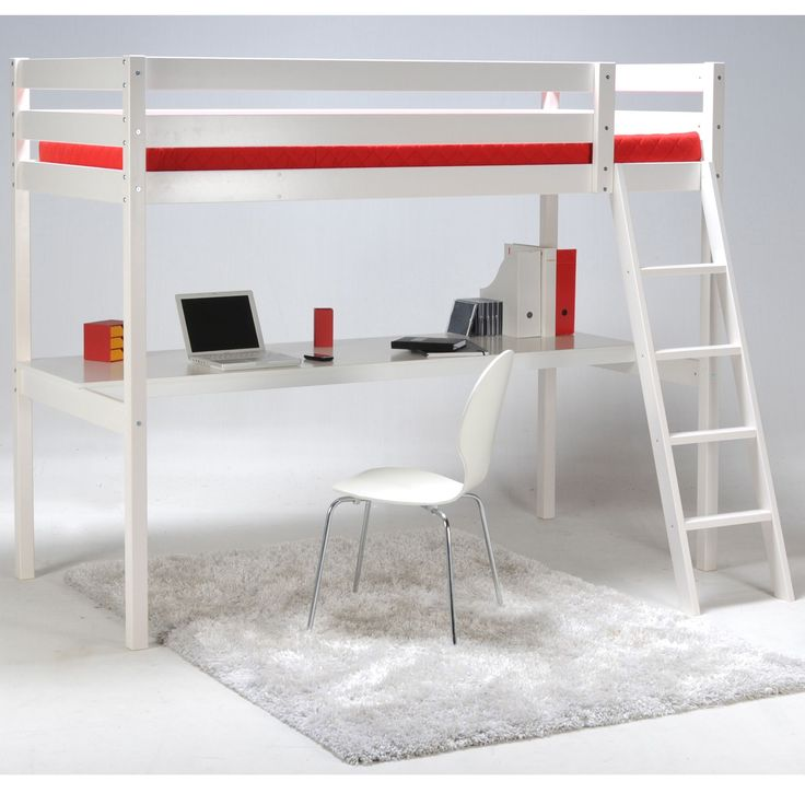 1000 ideas about lit superpos avec bureau on pinterest - Lit superpose avec bureau ...