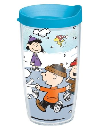 Tervis Peanuts™ Christmas 24 oz tumbler with lid