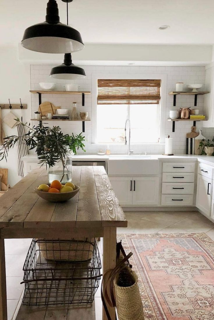 Most Beautiful Rustic Farmhouse Kitchens