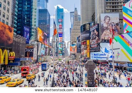 Times Square, New York - Shutterstock