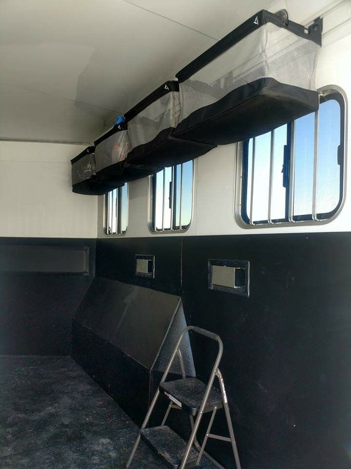 Gladiator Storage From Home Depot Horse Trailer Living Quarters Horse Trailers Horse Trailer Organization