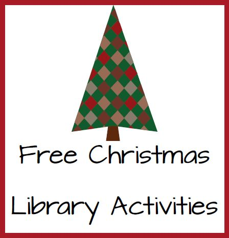Christmas Activities for the Library - Elementary Librarian