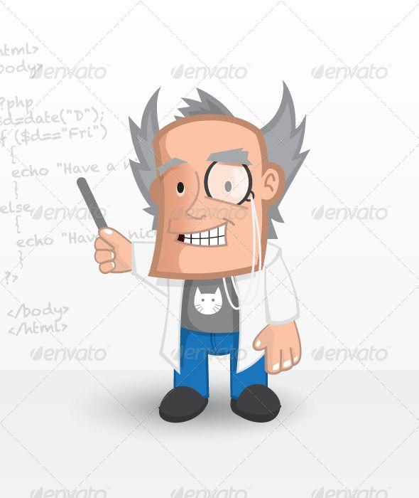 VECTOR DOWNLOAD (.ai, .psd) :: http://hardcast.de/pinterest-itmid-1002955800i.html ... Web Professor ...  lab geek, lab teacher, maths teacher, science teacher, teacher, tutor, web geek, web mascot, web master, website mascot, website professor  ... Vectors Graphics Design Illustration Isolated Vector Templates Textures Stock Business Realistic eCommerce Wordpress Infographics Element Print Webdesign ... DOWNLOAD :: http://hardcast.de/pinterest-itmid-1002955800i.html