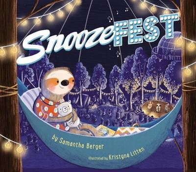 Cuddleford Snugglebun is a champion sleeper. In fact, she's such a good sleeper that she decides to go to Snoozefest, an arena festival for nappers, dozers, and the very best sleepyheads. There, she lounges in her hammock while bands like the Nocturnal Nesters and the Quiet Quartet serenade the audience with lullabies.