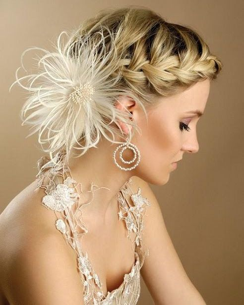 Beautiful Braids with Flower Pin | Full Dose