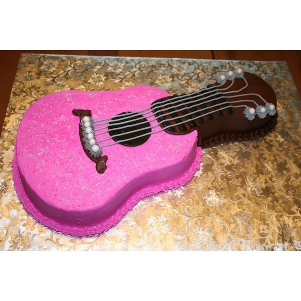 Taylor Swift Guitar Birthday Cake Prefer It To RED