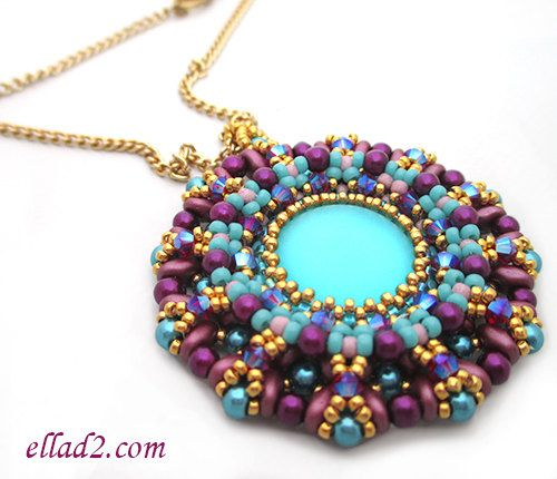 97 best beadwork by ella des ellad2 images on pinterest bead tutorial candy pendant instant download pdf beading tutorial beading patterns jewelry tutorial aloadofball Gallery