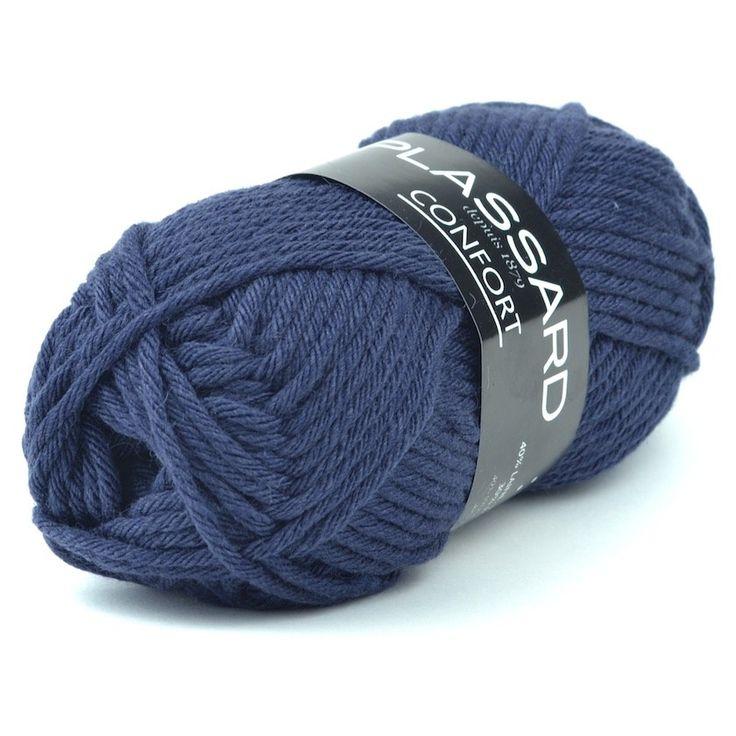 Confort de Plassard 40% laine, 30% acrylique, 30% polyamide