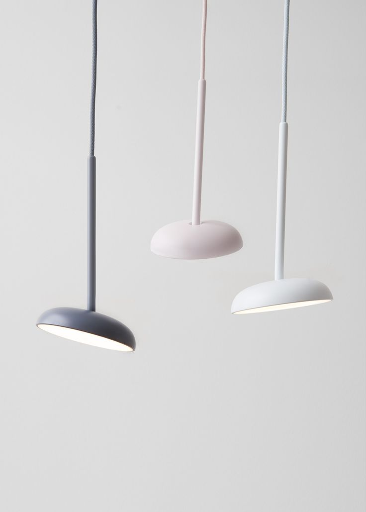 Pendini  Pendini is a minimal pendant with a dimmable and fully adjustable lampshade making it function as a suspended spotlight. Different colour combinations may contribute to an impression of hanging flowers, nodding and illuminating their...