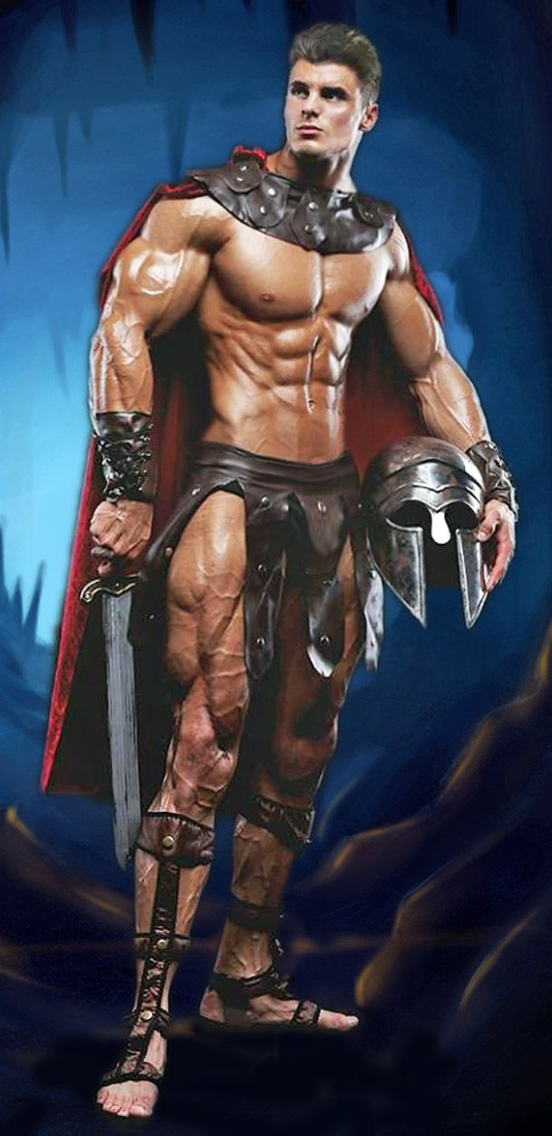 Naked greek gladiators — img 8