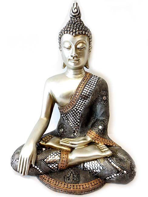 http://grafdecoratie.nl/photos/grote-thaise-buddha-urn-zilveren-Boeddha-urnen.JPG