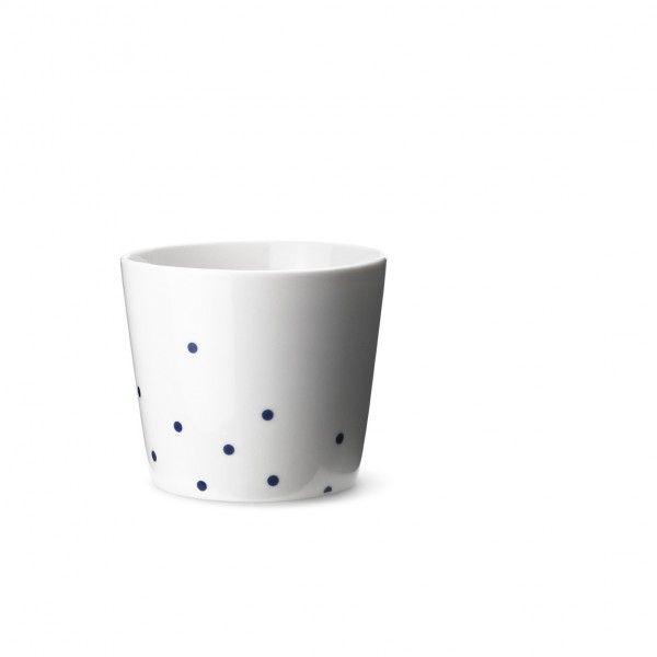 Ruth M cup dot blue RM351B - Ruth M cup dot blue