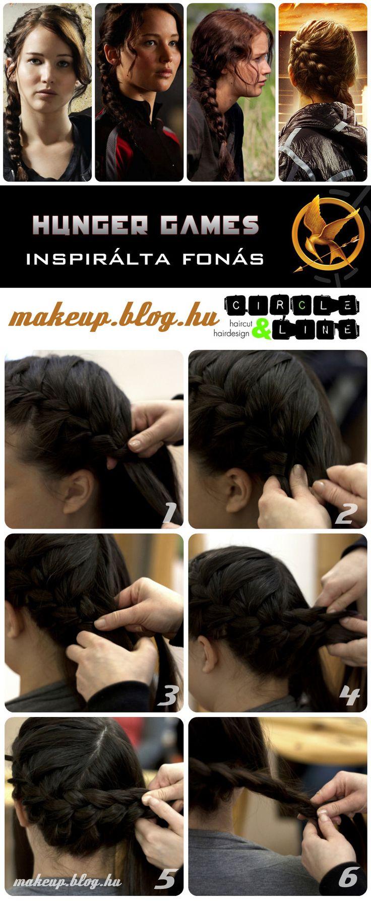 Katniss (Jennifer Lawrence) / Hunger Games inspired hair tutorial