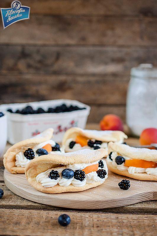 Omleciki biszkoptowe jak z cukierni (biskwity) | Filozofia Smaku