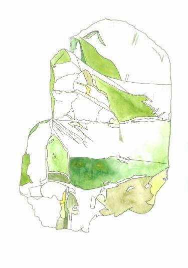 """Saatchi Art Artist Hanna Gro; """"OLIVINE mineral"""" #art"""