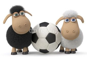 Lambs football players