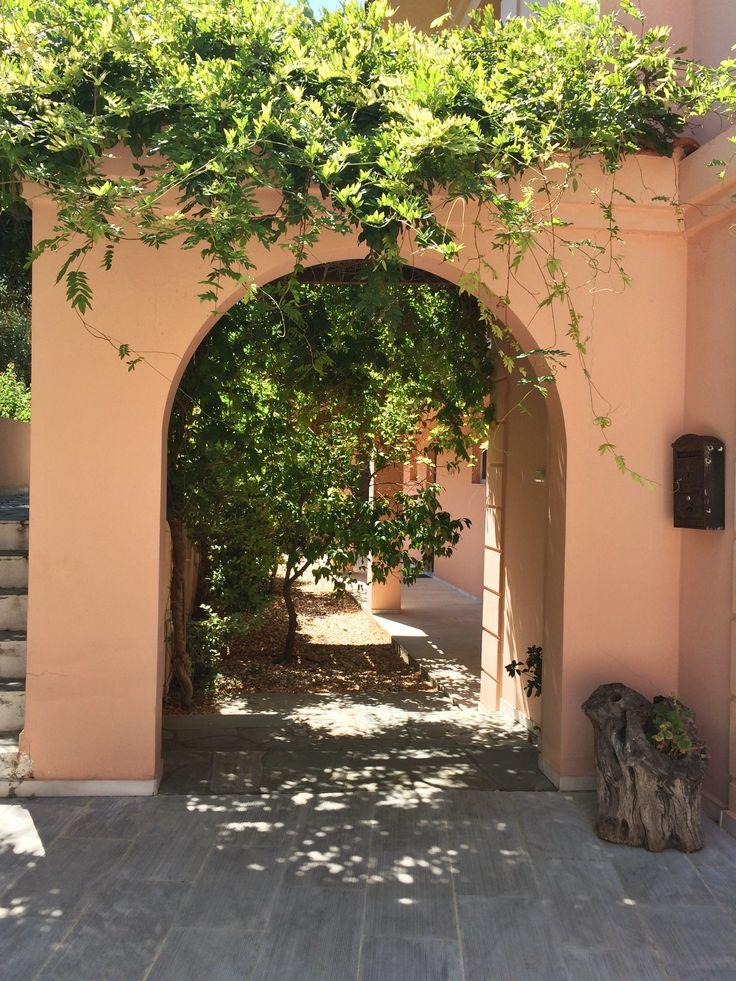 The arch! #garden #arch #summerhouse