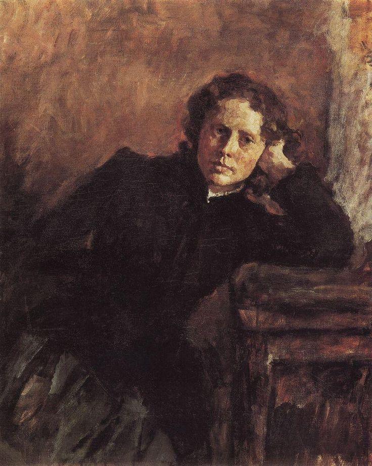 Портрет О.Ф. Трубниковой, 1885 Валентин Серов