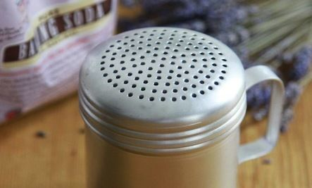 Mom had S & P shakers just like this The Natural Fix for a Smelly Refrigerator