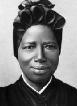 St. Josephine Bakhita was kidnapped as a young girl in Sudan and sold as a slave. She suffered bullying and hardship under different masters. One took her to Italy where she met the Canossian Sisters. She learned about Jesus and became a nun later. She led a holy life of humility, service and charity, inspiring everyone especially her African people. She also forgave her captors and those who caused her much suffering. She is the patron saint of Sudan. Her feast day is on 8 February.