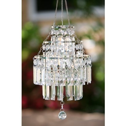 White Anywhere Crystal Pendant - Medium.Opens in a new window