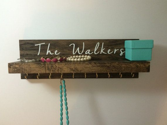 wood jewelry rack  wood jewelry display rack  by SMLcraftycouple
