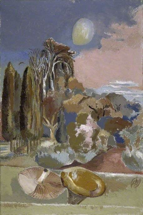 November Moon (1942) by Paul Nash