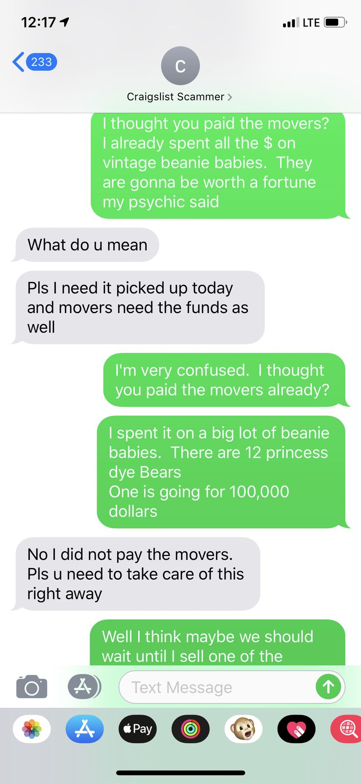 Pin on craigslist funny scam
