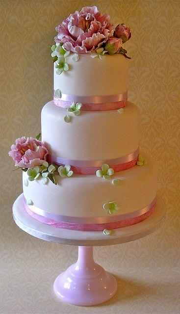 <3 Pink Peonies & Hydrangea
