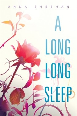 """A Long, Long Sleep by Anna Sheehan. This is on my list because it's a Sleeping Beauty retelling, but I'm not sure about it because the description sounds vaguely like """"Across the Universe"""" and that book didn't wow me."""