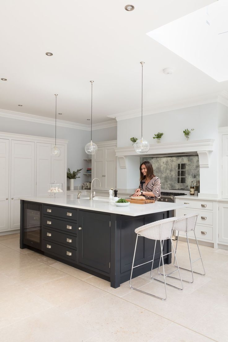 Open Plan Luxury Kitchen, London