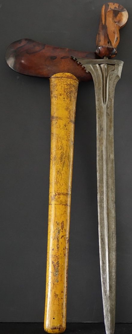 Antique Indonesian Balinese Straight Bladed Keris