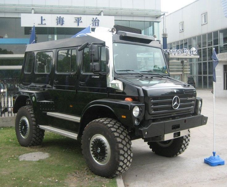 unimorg | Spotted in China: the massive Unimog U5000 SUV