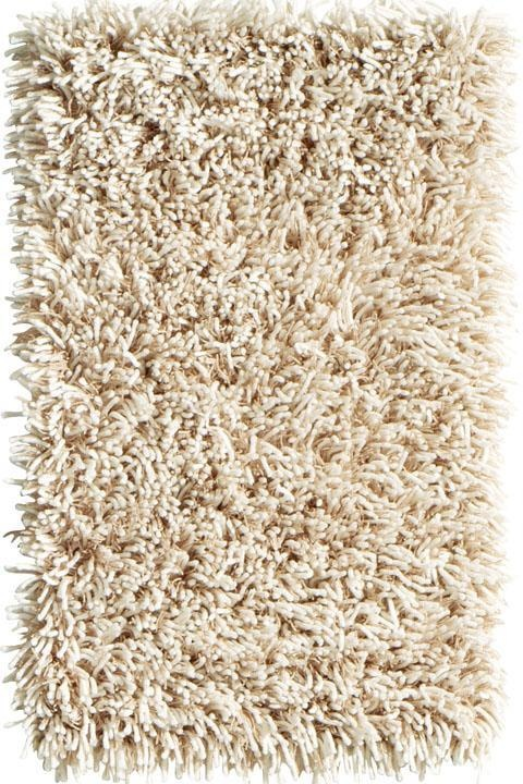 Classic shag pile mid century rug