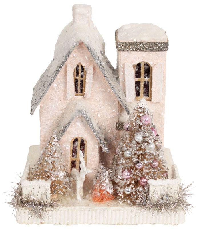 little pink sparkle house